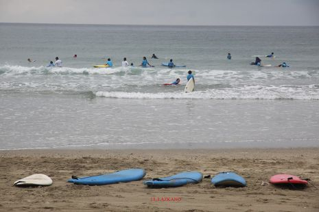 Cursillo de Surf.Deba.2014-07-08