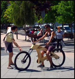 Curiosa bici