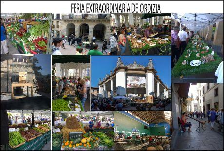 Mercado extraordinario de Ordizia