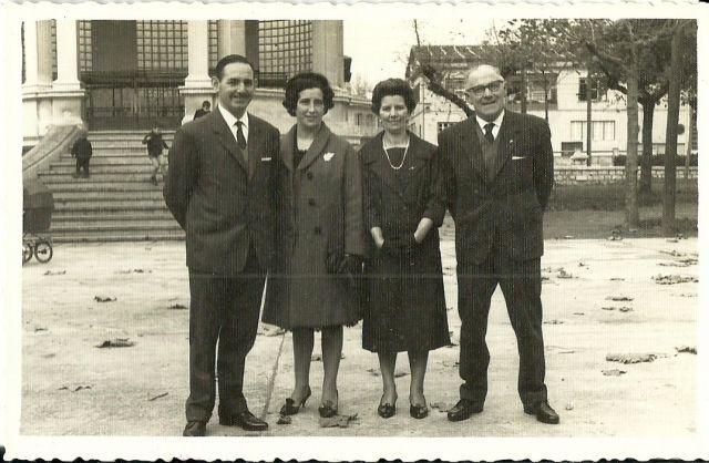 Iparraguirre-Peña eta Valledor-Lazcano.Deba.1964-10-27