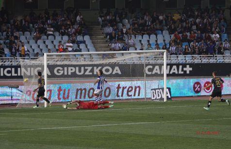 Anoeta.Gol del C.F.Malaga.2014-11-01