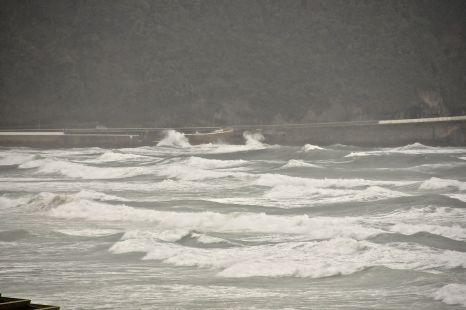 la mar está rota
