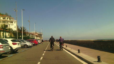 paseo hacia el peine del viento