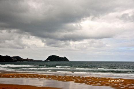 Nubes en la costa