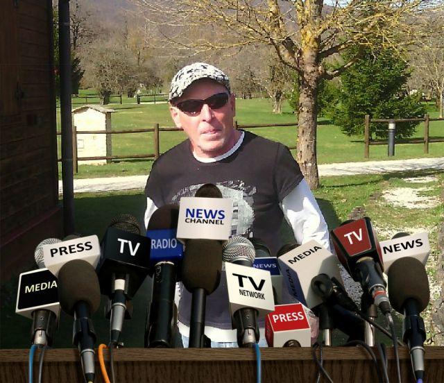 entrevista en el campo