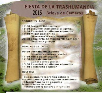 Fiesta de La Trashumancia