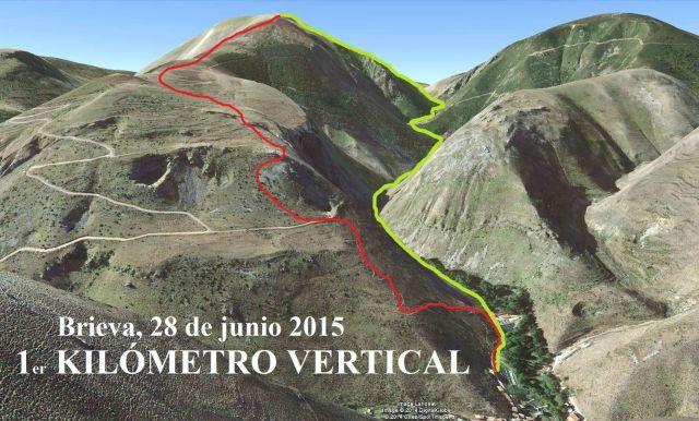 Carrera del kilometro vertical