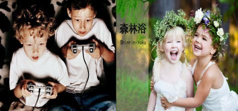 Shinrin-yoku Niños Naturales