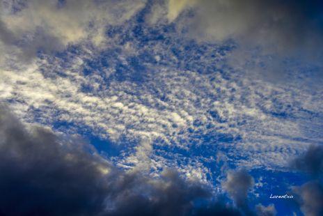 Nubosidad en Zarautz