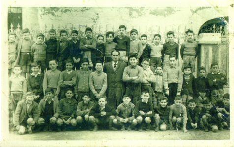 Escuela Publica.Deba 1957