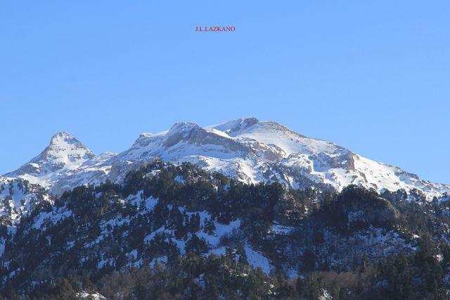 Pirineos desde Belagoa.2016-01-27