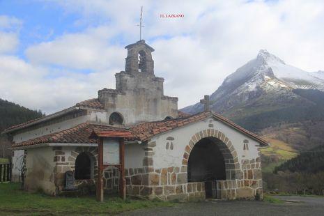 Ermita S.Saturnino eta Txindoki.2016-02-19