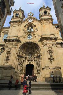 Donostia.Iglesia Sta.Maria La Real