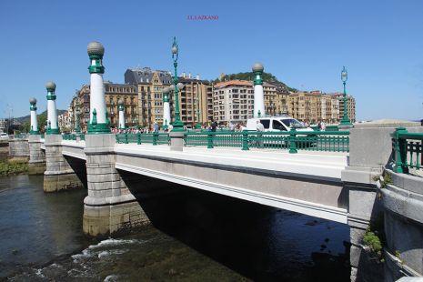 Donostia.Puente del Kursaal