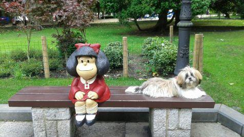 Mafalda y Koke