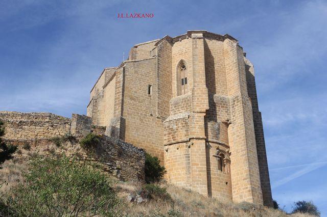 Gallipienzo Antiguo.Iglesia S.Salvador.Navarra