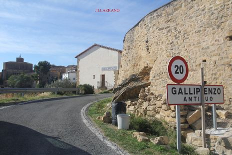 Gallipienzo Antiguo.Navarra