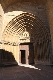 Ujue.Iglesia Sta.Maria.Navarra