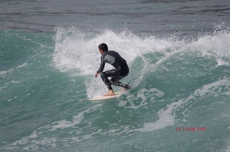 Zumaia.Orrua.Surfista F.Alberdi