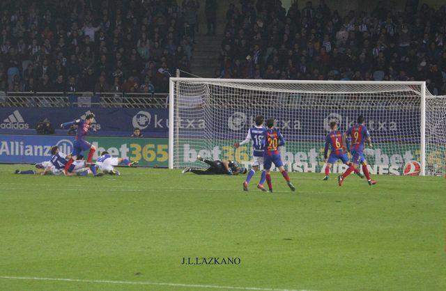 Anoeta F.Zelaia.Gora Erreala.Gol del C.F.Barcelona.2016-11-27