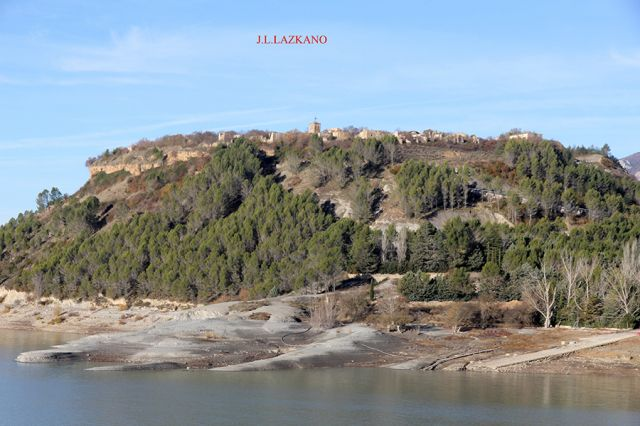 Pantano de Yesa.Tiermas.2016-12-09