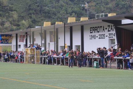 La Real Sociedad en Deba.Grandes aficionados2017-03-22