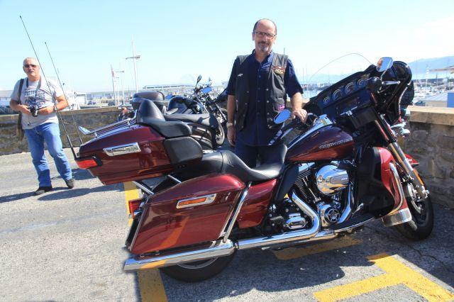 Getaria.Portua.Harley Davidson